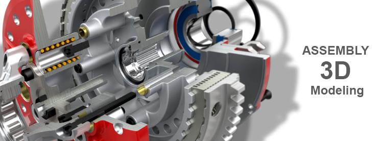Assembly-3D-Modeling Assembly 3D Modeling