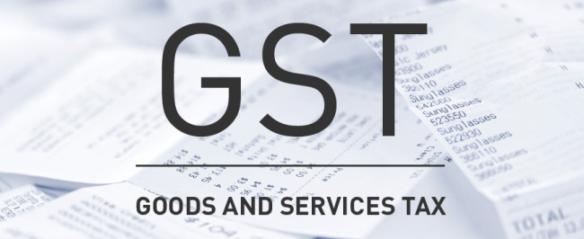 GST1 Goods and Services Tax GST